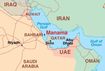 US Speeds Up Arms Sales To Its ME Gulf Allies - Us and its allies map