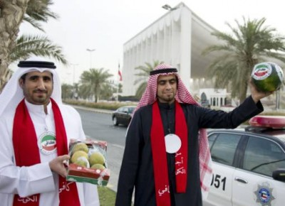 Kuwait : Watermelon, new symbol of Arab discontent | Ya Libnan ...