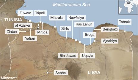 libya map 051311