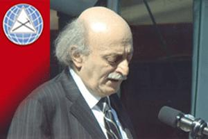 jumblatt in qatar