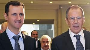 lavrov assad in damascus