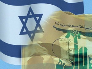 israel hezbollah flags