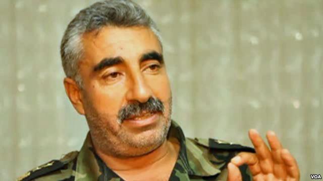 Free Syrian army deputy commander Malik al-Kurdi