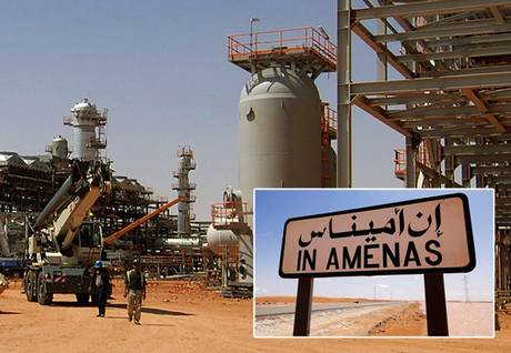 Algeria in Amenas gas plant
