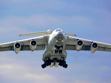Russian cargo plane IL-76