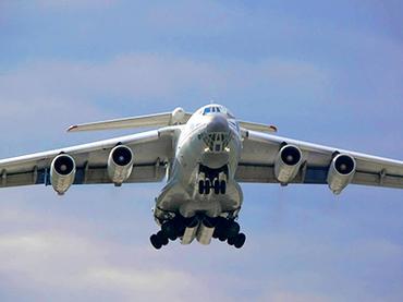 Russian cargo plane IL-76