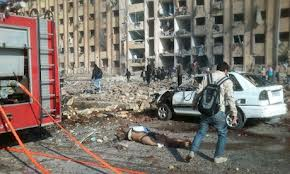aleppo university blast