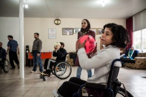 paralyzed syrians turkey
