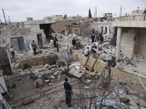 syria destruction jan 2013