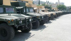 Humvees for LAF