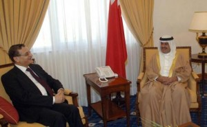 Mansour  w Bahrain's DPM Ali bin Khalifa Al Khalifa