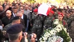 Pierre Bachalaany funeral