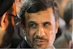 ahmadinejad gets  a   shoe in cairo