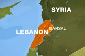 arsal lebanon map