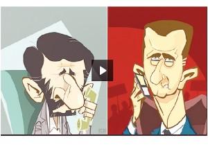 assad puppet dictator w  ahmadinejad