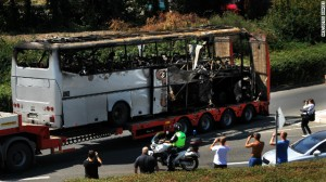 bulgarian bus - Hezbollah