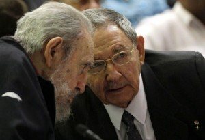 fidel castro L  raul castro