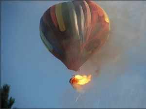 hot air balloon acident  egypt
