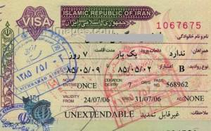 iranian visas