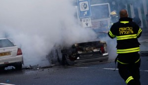 israel car explosion kills 2