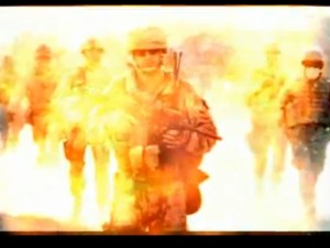 obama US troops in flames- n korean video