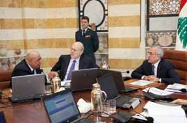 suleiman at cabinet meeting