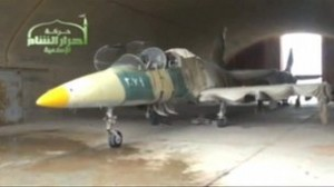 syria rebels capture Mig fighter jets