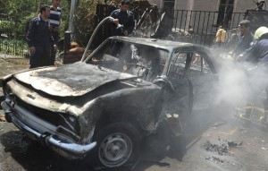 damascus bomb kills 13