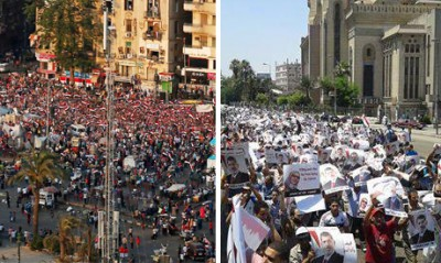 egypt rival protests