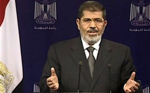 morsi addressing the nation
