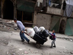 displaced inside syria