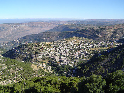 Shouf Lebanon  city images : Niha , hometown of Wadih El Safi where he will be laid to rest