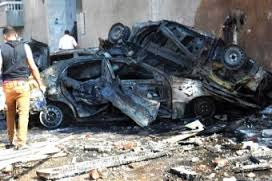 Suicide car bomber egypt