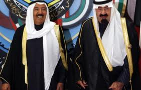 emir of kuwait, saudi king