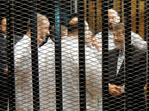 morsi during trial