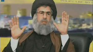 nasrallah mocked on LBC