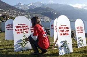 syria, 100000 lives lost