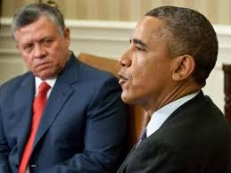obama king abdullah II