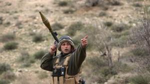 lebanese army near Syria
